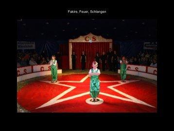 Fakire, Feuer, Schlangen - 77. Grundschule