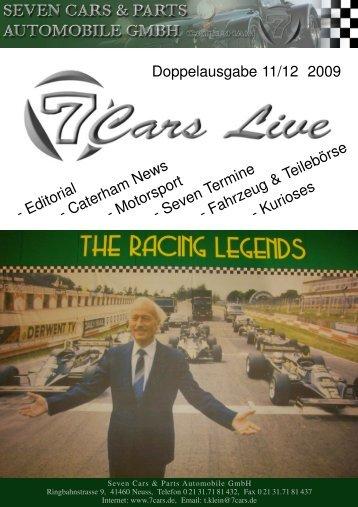 Doppelausgabe 11/12 2009 - Seven Cars & Parts