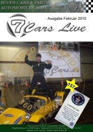 Ausgabe 02/2009 Ausgabe Februar 2010 - Seven Cars & Parts