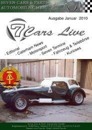 Januar 2010 - Seven Cars & Parts