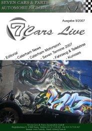 September 2007 - Seven Cars & Parts