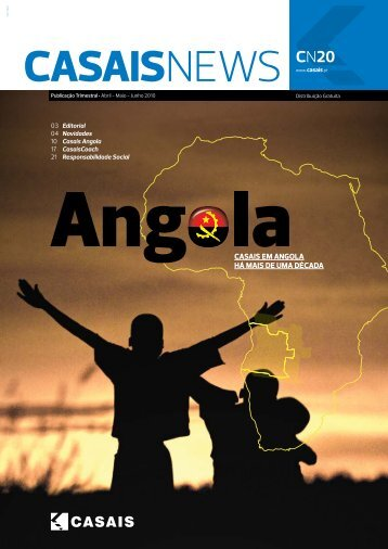 HÁ MAIS DE UMA DÉCADA CASAIS EM ANGOLA - Grupo Casais