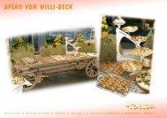 Apéro vom Willi-Beck - Willi Beck AG
