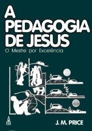 15.A pedagogia de jesus.pdf - Faculdades INTAEaD