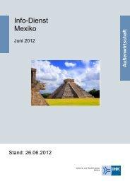 Info-Dienst Mexiko, Ausgabe vom 26. Juni 2012 - und ...