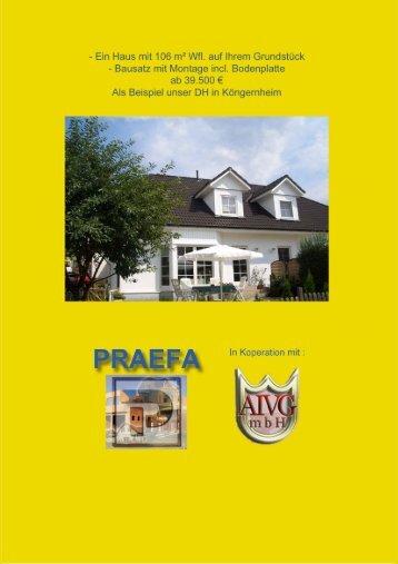 Brandschutz der PRAEFA Wand und Deckenelemente