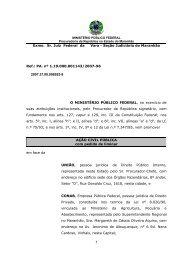Ação Civil Pública com pedido de liminar proposta