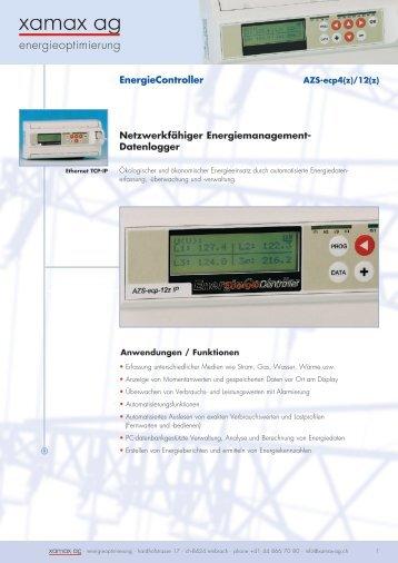 energieoptimierung - xamax ag | über xamax
