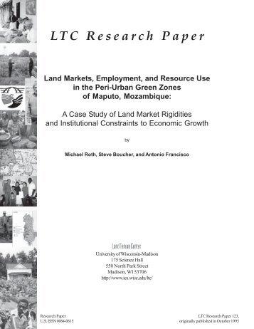 rp123 cover.pmd - Instituto de Estudos Sociais e Económicos (IESE)