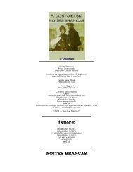 ÍNDICE NOITES BRANCAS - Biblioteca Digital da PUC-Campinas