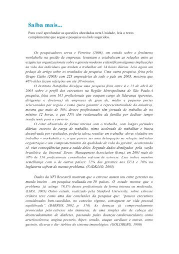 Texto complementar - UAPI
