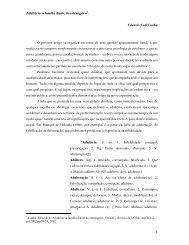 Adultério: a família diante do estrangeiro∗. Eduardo Leal Cunha O ...