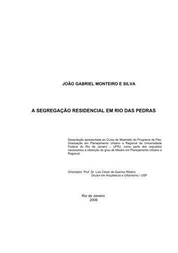 JOO GABRIEL MONTEIRO E SILVA - UFRJ