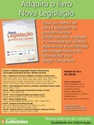 Balanço 2012 e Perspectivas 2013 - Revista Laticínios