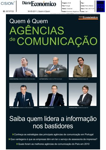 Diário Económico - Food for Thought - Lift Consulting