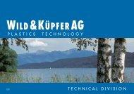 PLASTICS technology Download - Wild + Küpfer AG