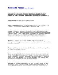 Fernando Pessoa por ele mesmo - Brasileiro.ru