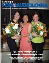 Edição 65 - Conselho Regional de Fonoaudiologia