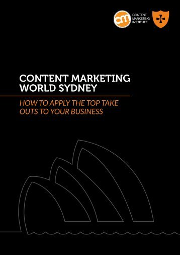 CONTENT MARKETING WORLD SYDNEY