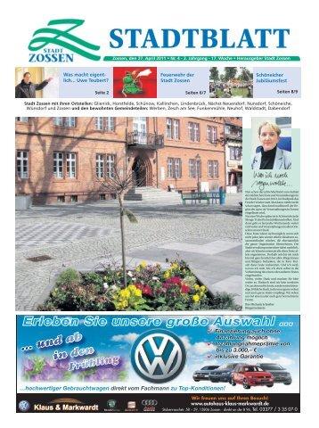 27.04.2011 - Stadt Zossen