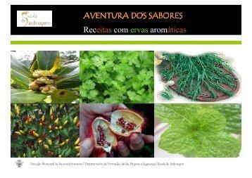 Receitas com Ervas Aromaticas - Câmara Municipal de Lisboa