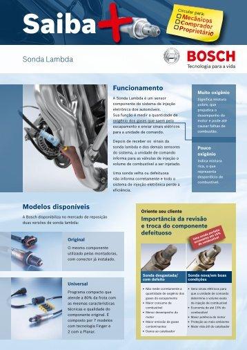 Sonda Lambda - Bosch