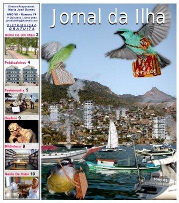 JORNAL 74 - TV Ilha