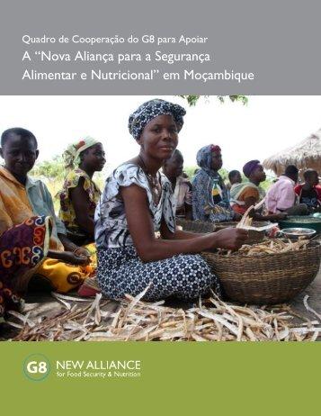 """A """"Nova Aliança para a Segurança Alimentar e Nutricional"""" em ..."""