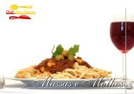 Massas e Molhos - Chef Alex Caputo