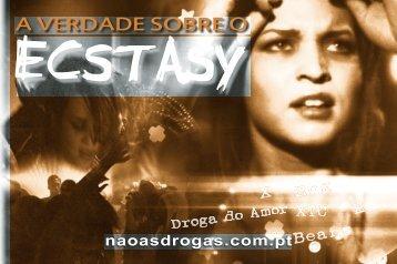 folheto A Verdade sobre o Ecstasy - Drug Free World