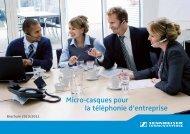 Micro-casques pour la téléphonie d'entreprise - Sennheiser
