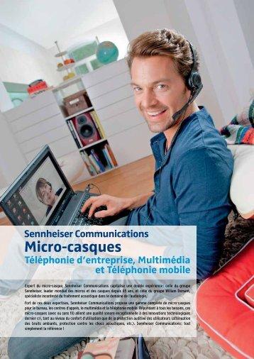 Catalogue 2013 - Sennheiser