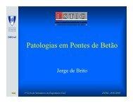 Patologias em Pontes de Betão