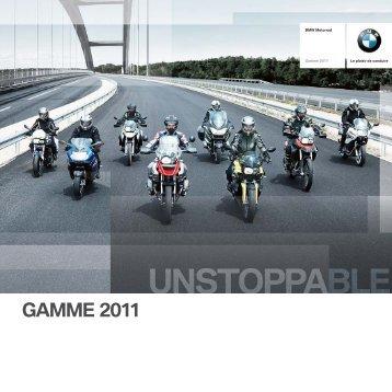 GAMME 2011 - BMW Motorrad Belux