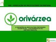 Orivarzea - AOP - Associação de Orizicultores de Portugal
