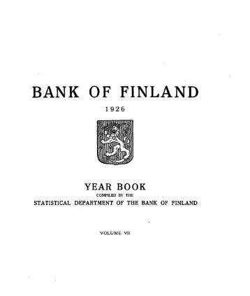 Download publication - Suomen Pankki