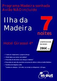 Madeira sonhada - In-Out-Travel