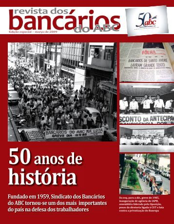 Download da revista - Sindicato dos Bancários do ABC