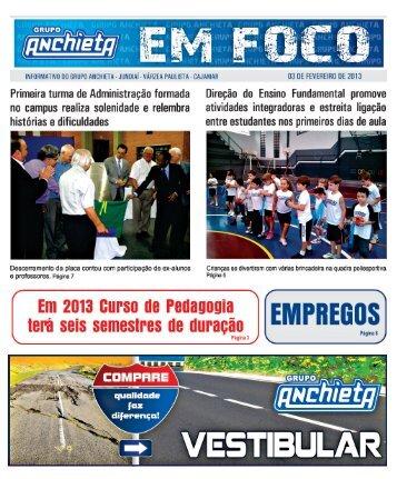 03 de fevereiro - Faculdades Padre Anchieta