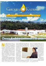 Chevra Kadisha comemora 80 anos - Associação Cemitério Israelita ...
