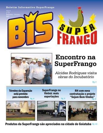 Boletim Ano 4 - Super Frango