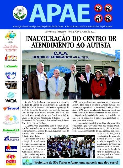 Informativo Trimestral - Abril | Maio | Junho de ... - APAE São Carlos
