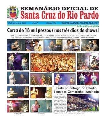 X - Prefeitura de Santa Cruz do Rio Pardo