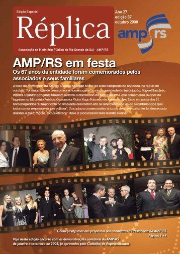 AMP/RS em festa Os 67 anos da entidade foram comemorados ...