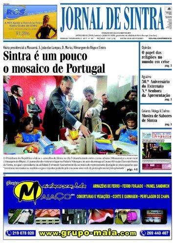 l l SEI'IAIIAIIIO REGIONALISTAINDEPENDENTE - Jornal de Sintra