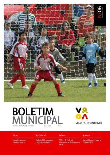 BOLETIM MUNICIPAL - Vila Real de Santo António