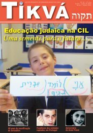 Tikvá nº 64, 8º ano - Comunidade Israelita de Lisboa