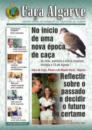 Licenças por Multibanco - Federação de Caçadores do Algarve