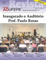 Revista nº 5 - Adufepe