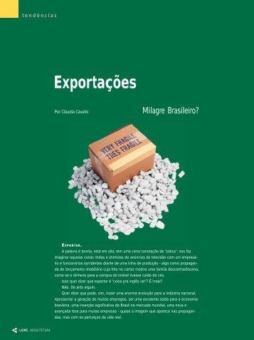 Exportações - Lume Arquitetura
